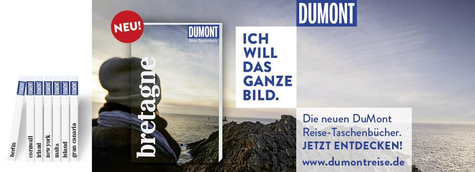 Jetzt die neuen Dumont Reisetaschenbücher entdecken