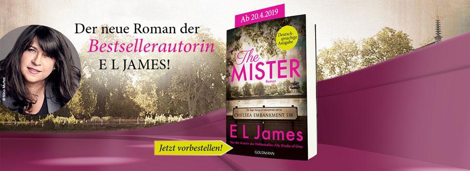 Der neue Roman von E.L. James - jetzt vorbestellen