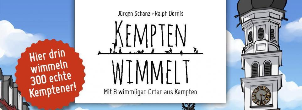Jetzt Teil des Wimmelbuch Kemptens werden